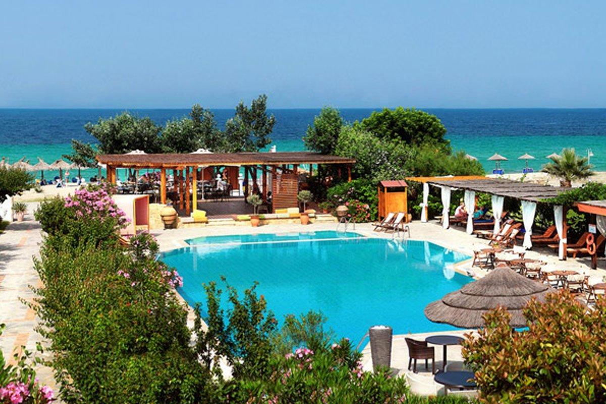 Antigoni Beach hotel odmor na Sitoniji
