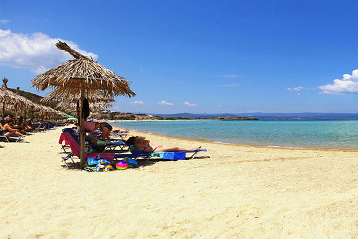 Antigoni Beach hotel - Ormos Panagias plaža
