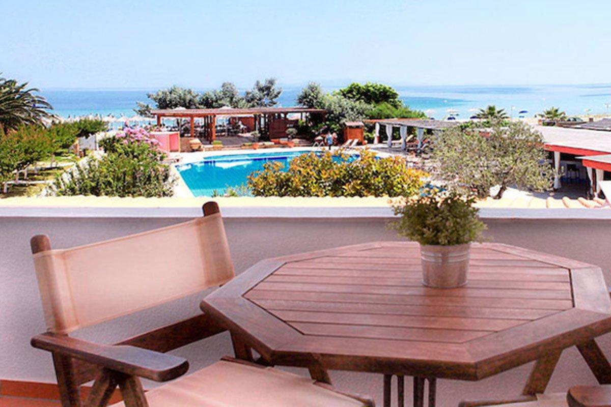 Antigoni Beach hotel balkon