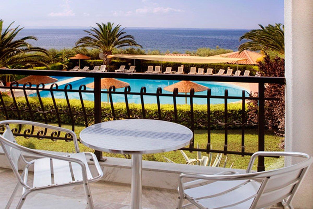 Hotel Martha's Resort balkon