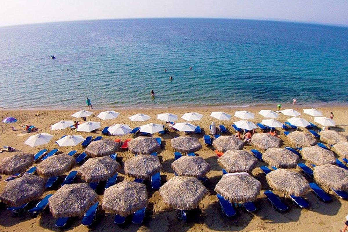 Sonia Resort plaža Halkdiki
