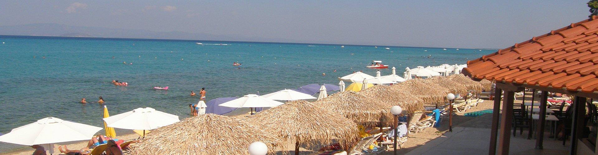 Duga peščana plaža u Haniotiju