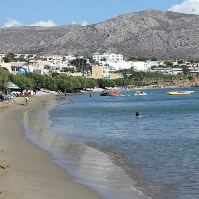 Plaže na Makrigialosu
