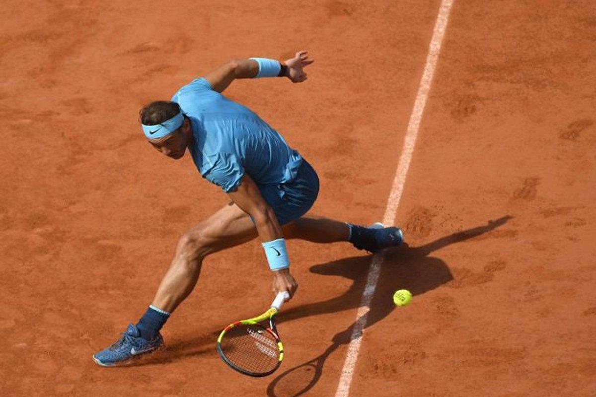 Rafael Nadal na teniskom turniru Roland Garros