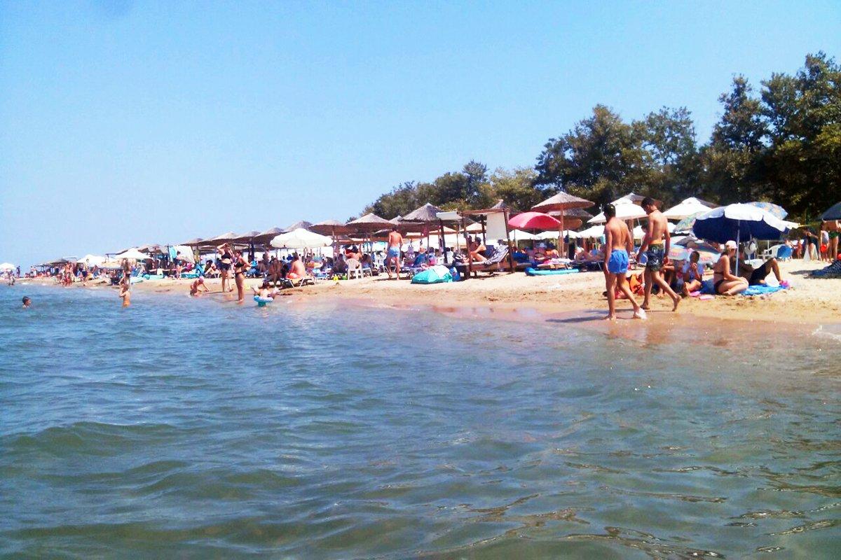 Plaža u mestu Stavros