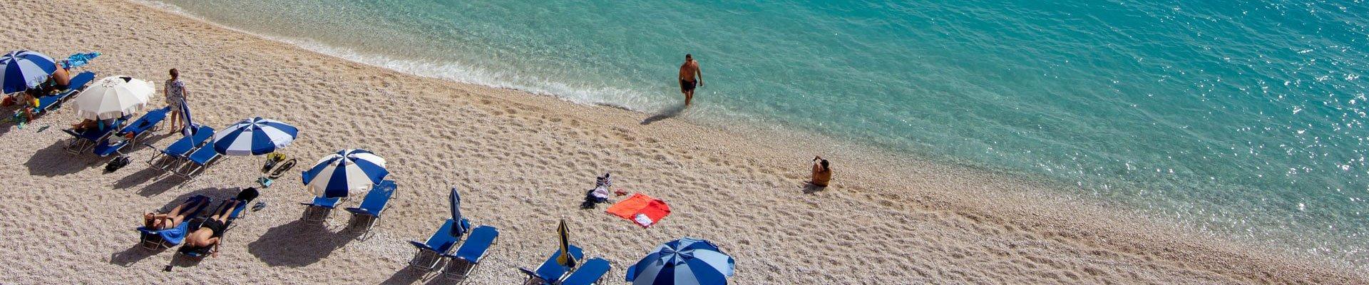 Kalives, plaža na Sitoniji