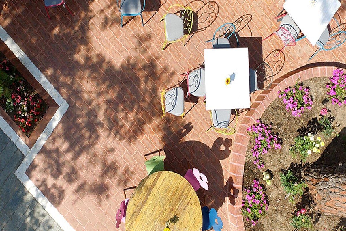 Hotel A for Art terasa za uživanje