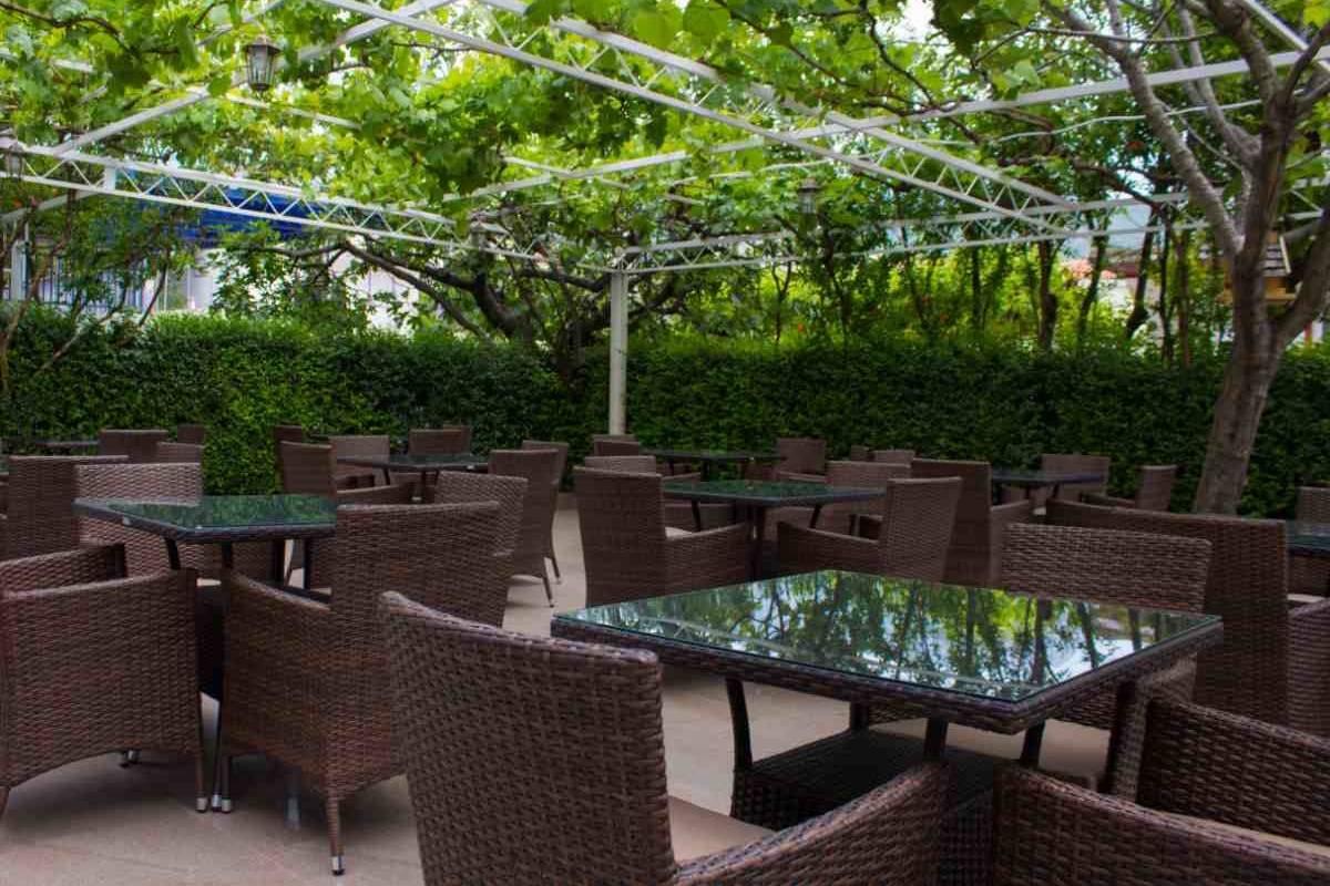 Hotel Adria balkon