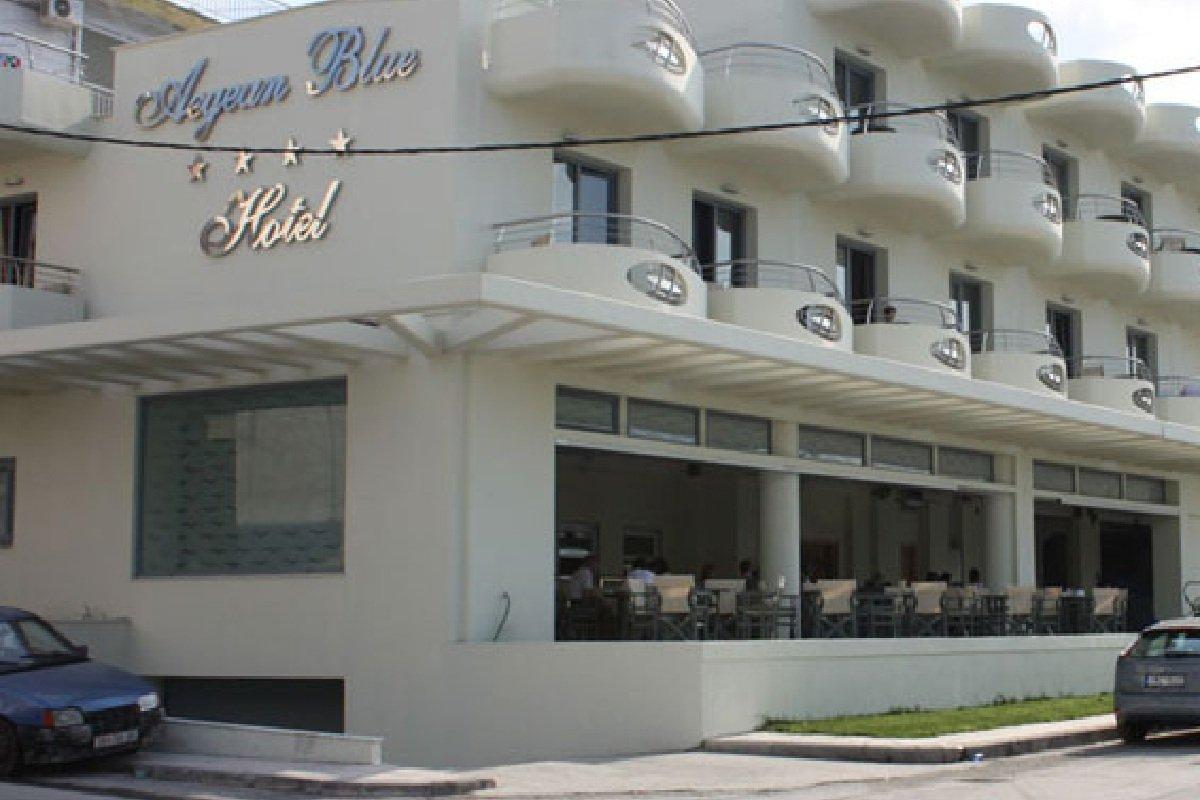 Hotel Aegean Blue smeštaj na Kasandri