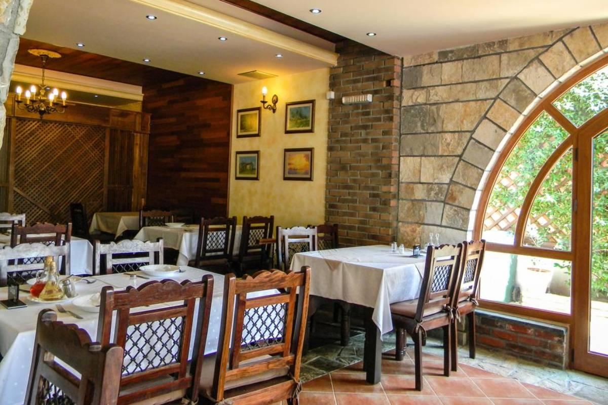 Restoran u hotelu Galeb