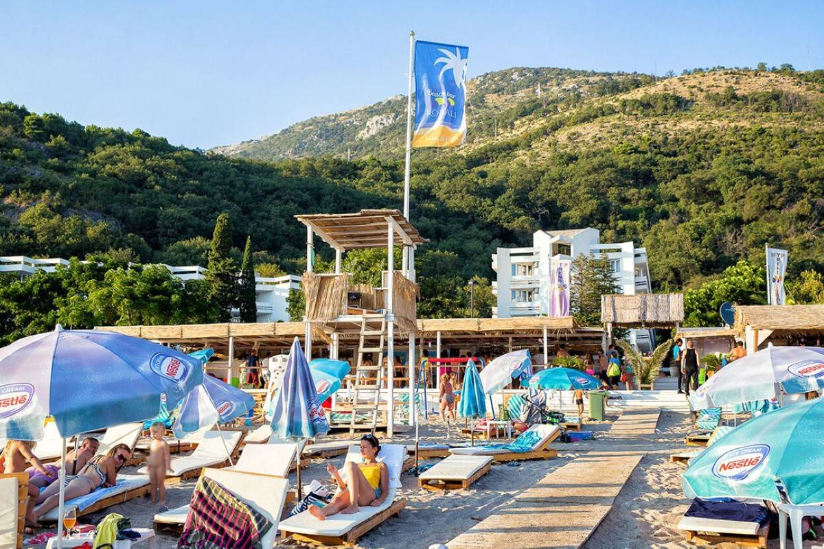 Hotel Korali beach bar