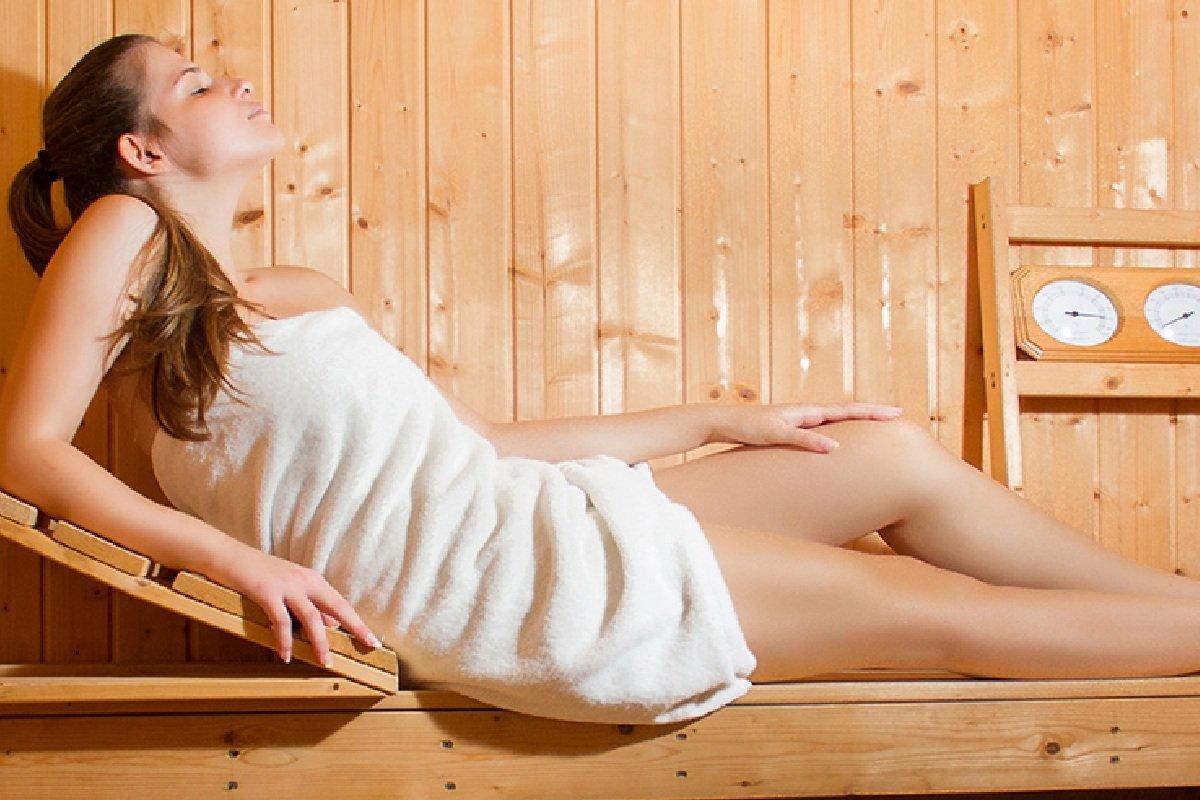 Hotel Xenios Loutra beach sauna