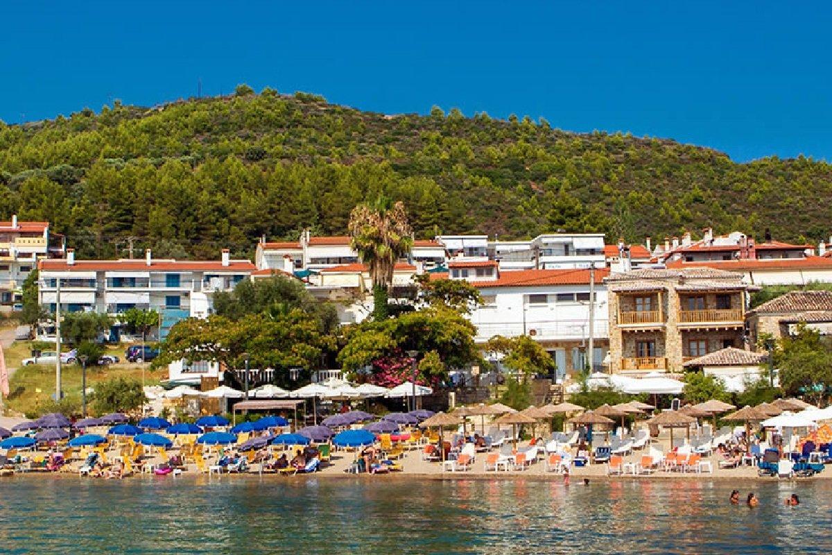 Hotel Xenios Loutra beach smeštaj na Kasandri