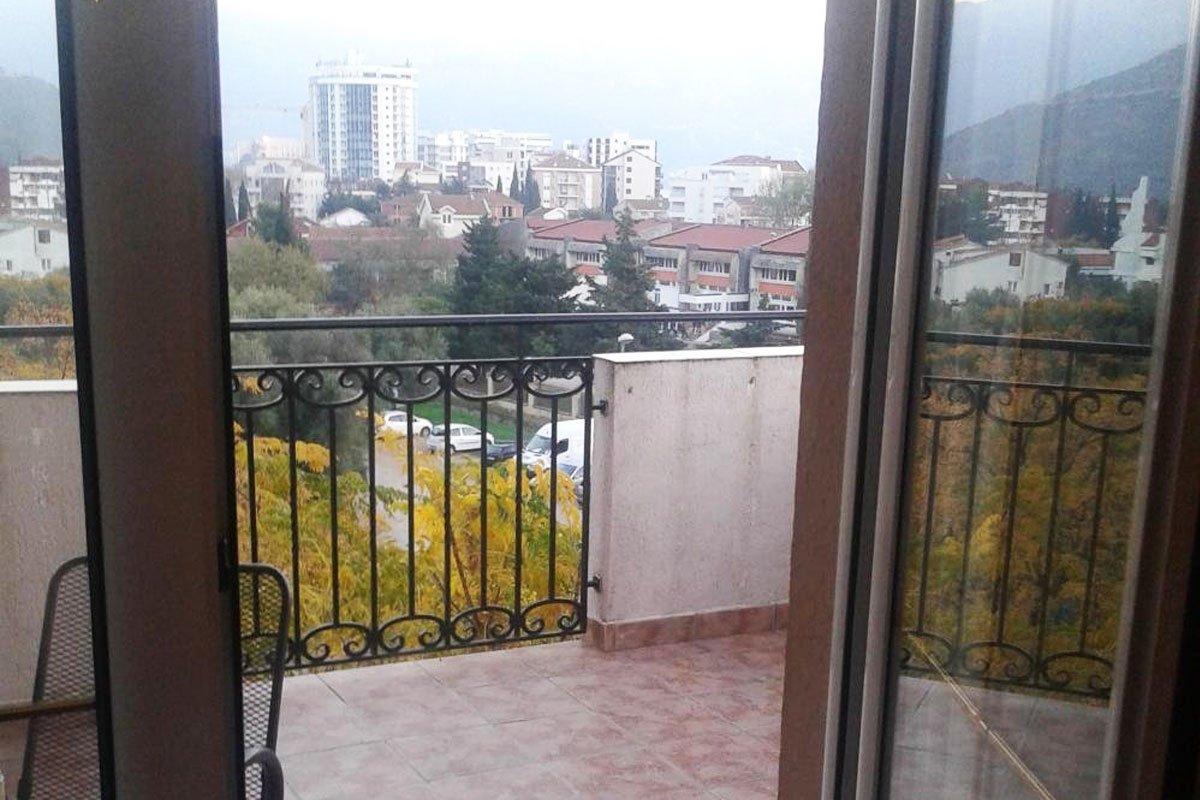 Terasa apartmana Vujović