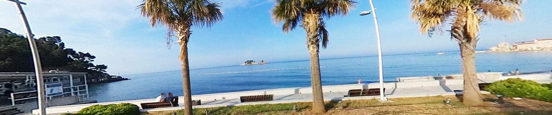 Petrovac na Moru plaža