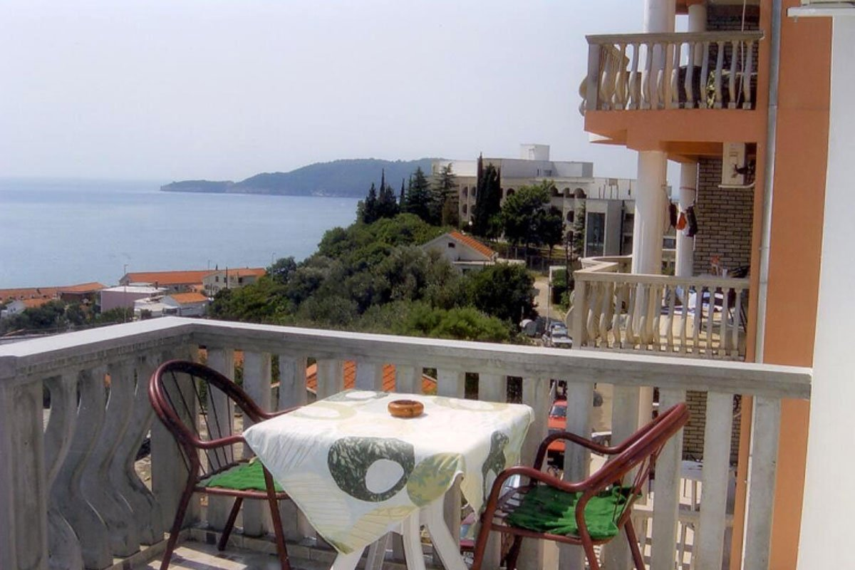 Pogled na more iz vile Andjela