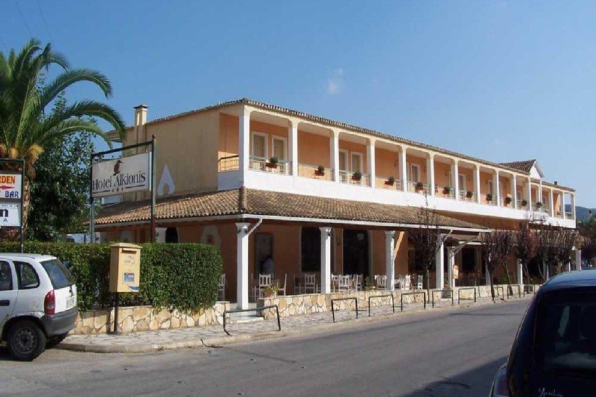 Hotel Alkionis spolja