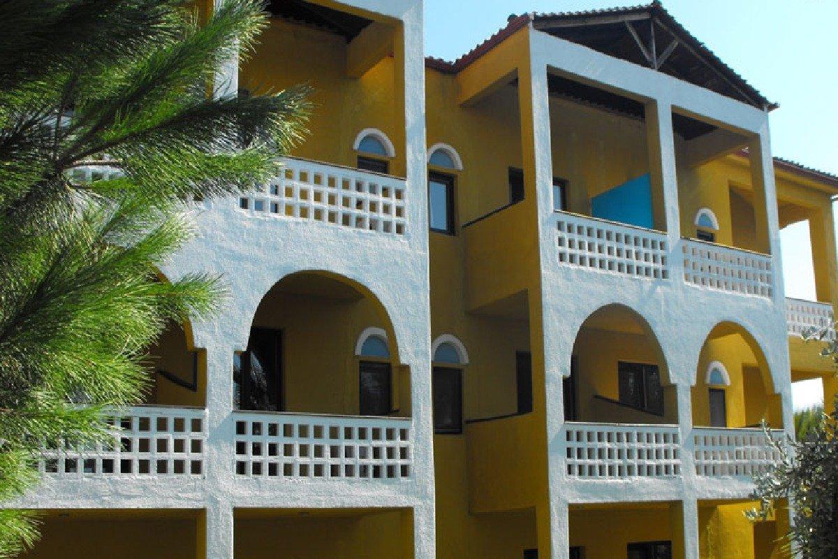 Hotel Despotiko Apartment balkoni