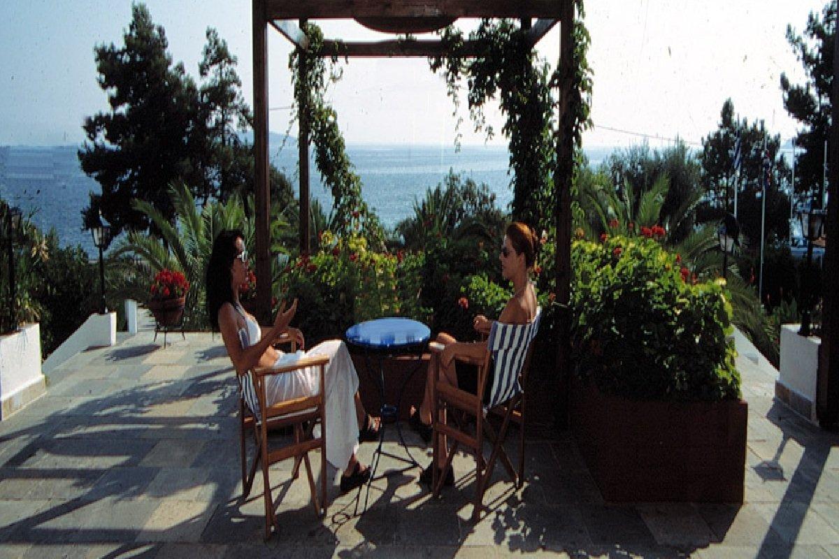 Hotel Esperides dvorište