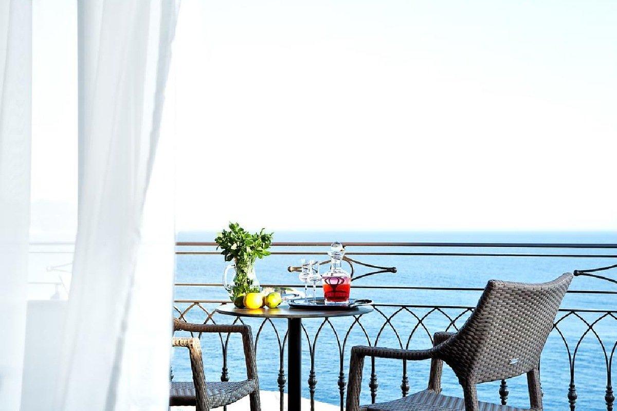 Hotel Sivota Diamond Resort pogled na more