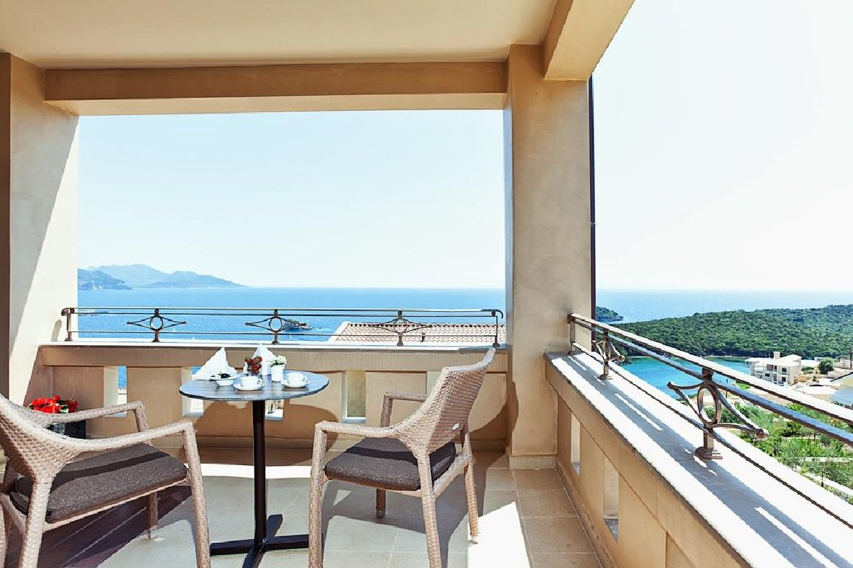 Hotel Sivota Diamond Resort terasa