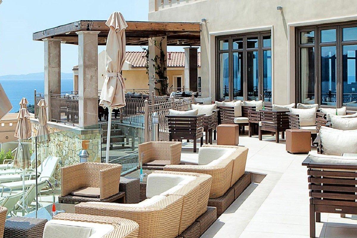 Hotel Sivota Diamond Resort bar